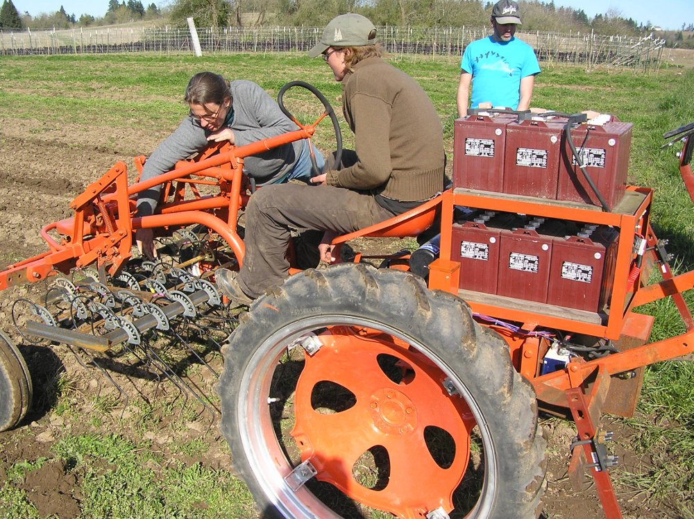 Electric tractor conversion
