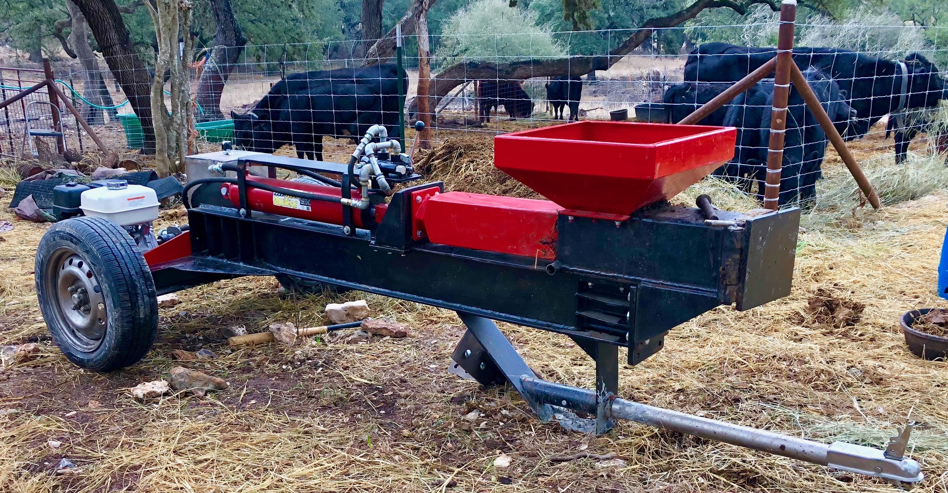 Livestock Manure Fuel Briquetter- The BioBeast