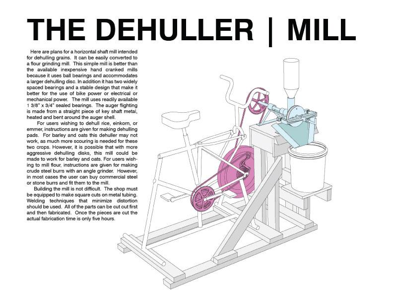 Dehuller/Flour mill