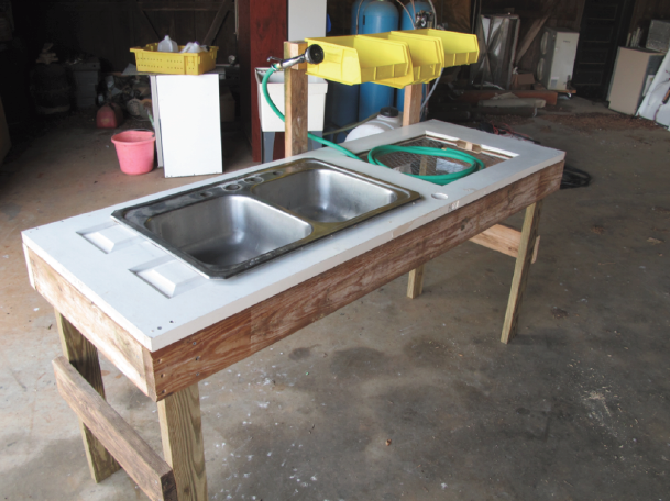 Vegetable Washing Station