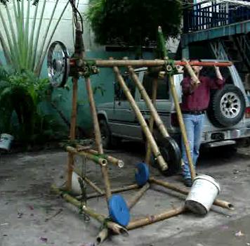Garden Swing Powered Water Pump