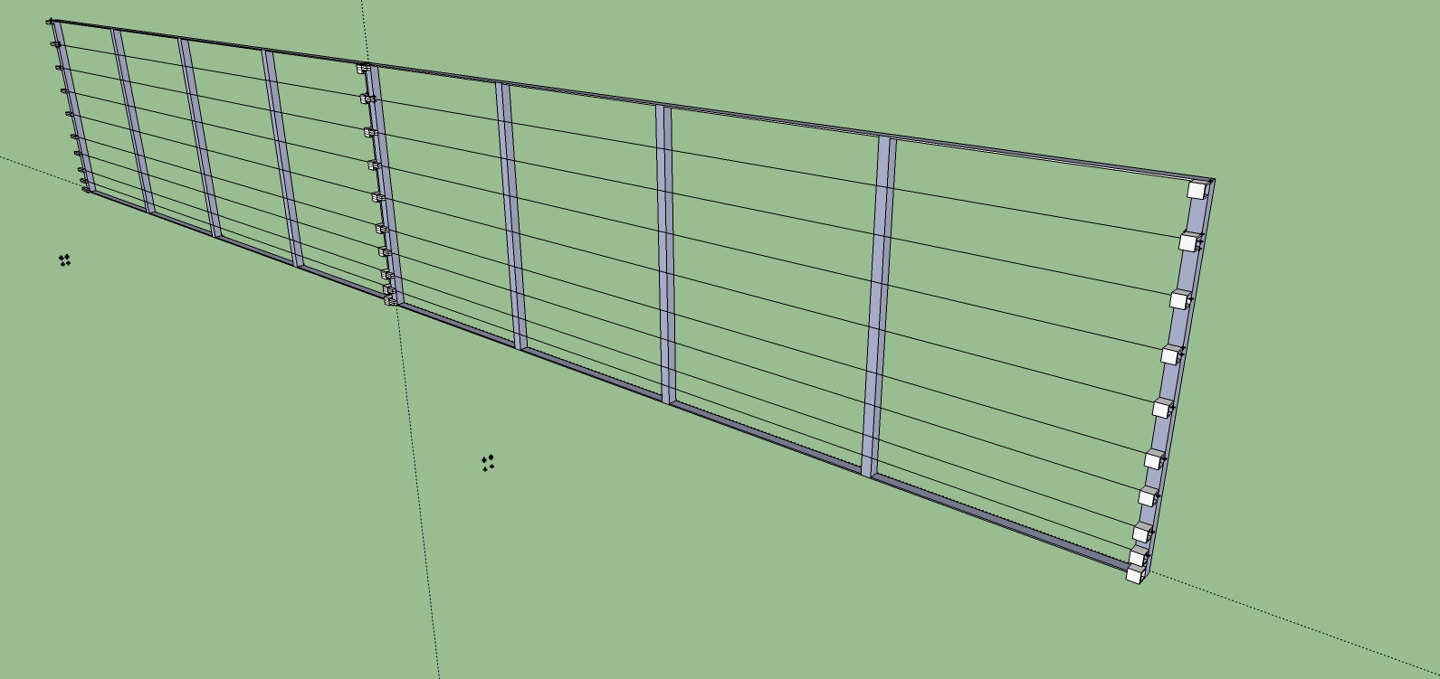 Modular Rigid Electro-Fence
