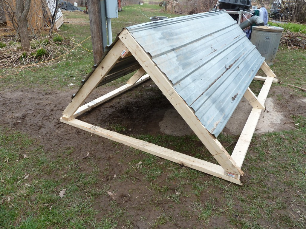 Simple Pig Shelter