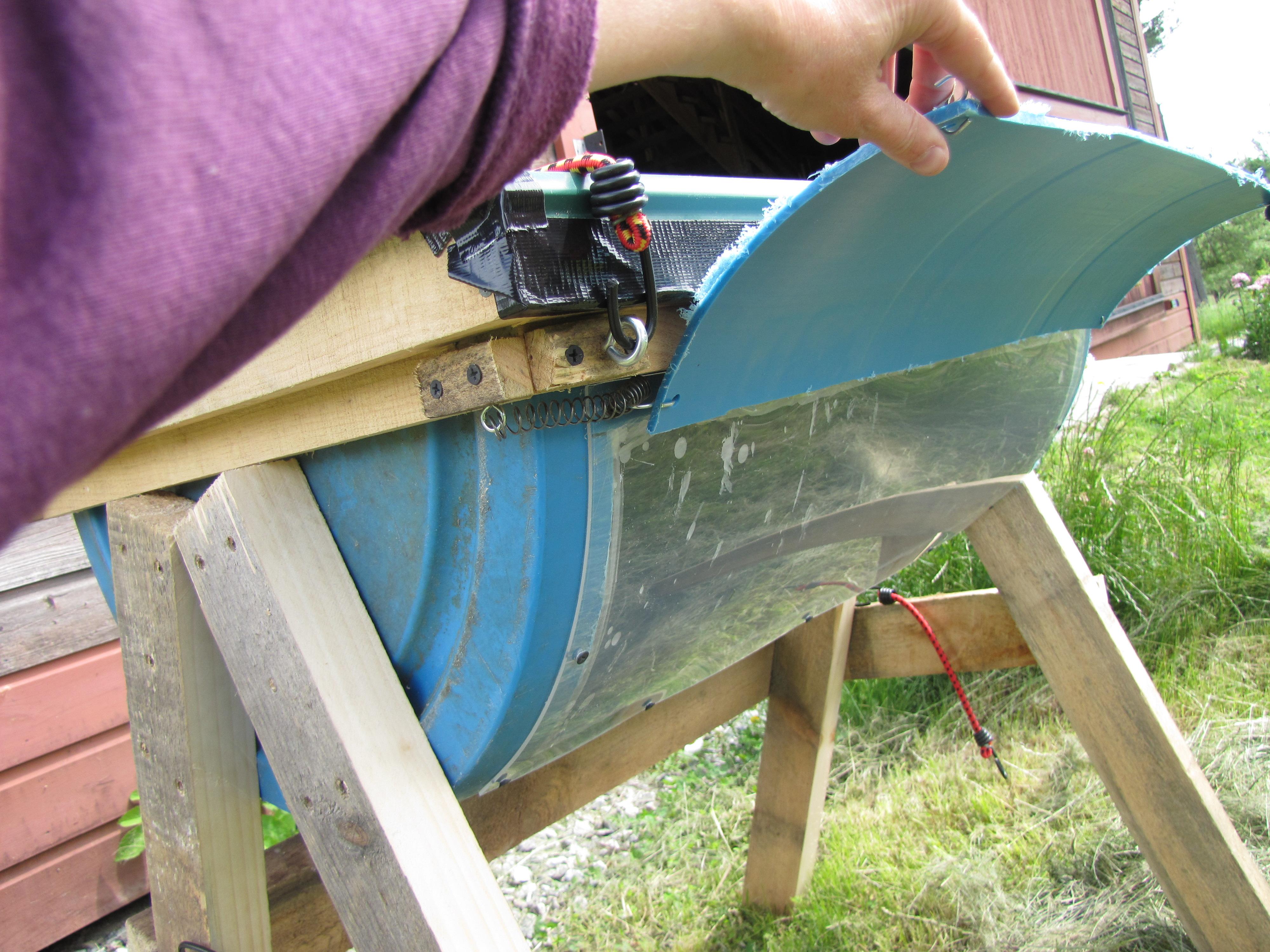 Simple Top Bar Bee Hive | Farm Hack