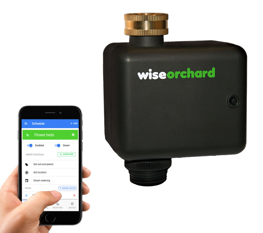 Wise Orchard: smart urban garden and orchard irrigation timer