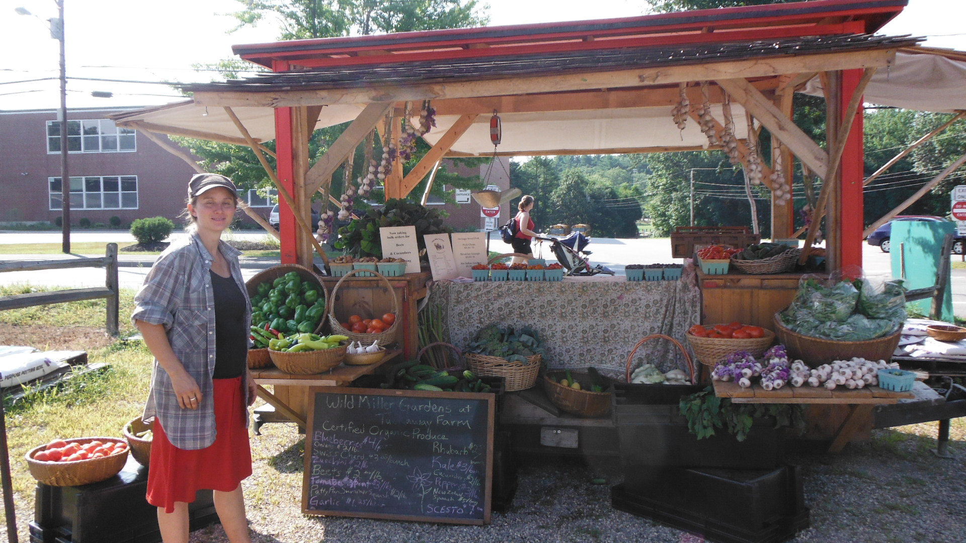 """folding farm"" portable market going trailer"