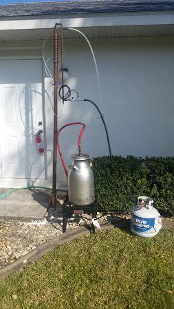 "2"" reflux column, will make 195 proof fuel ethanol."