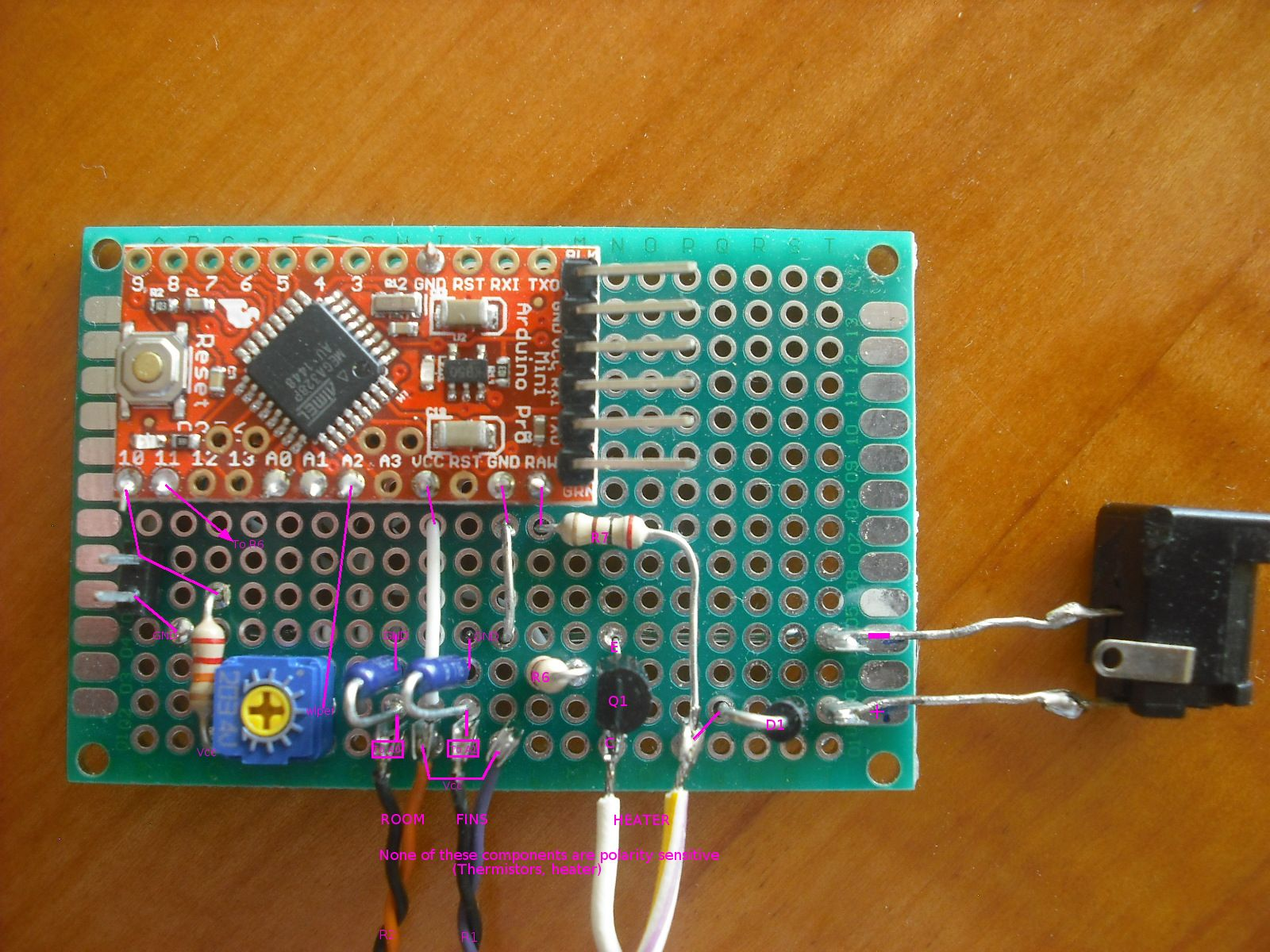 Coldsnap Air Conditioner Override Controller Farm Hack Make Your Own Temperature With An Arduino The Is Similar In Purpose And Basic Function To Commercial Coolbot But Simplified