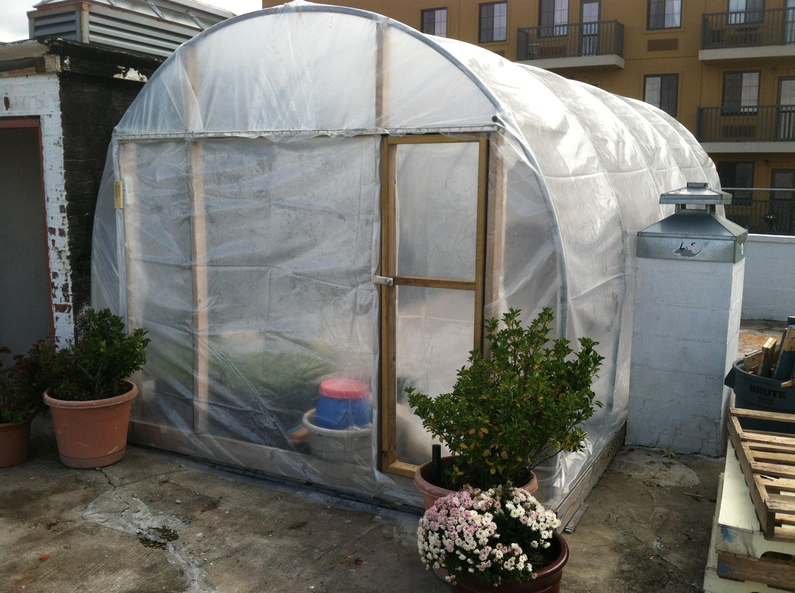 zepickens Greenhouse Exterior