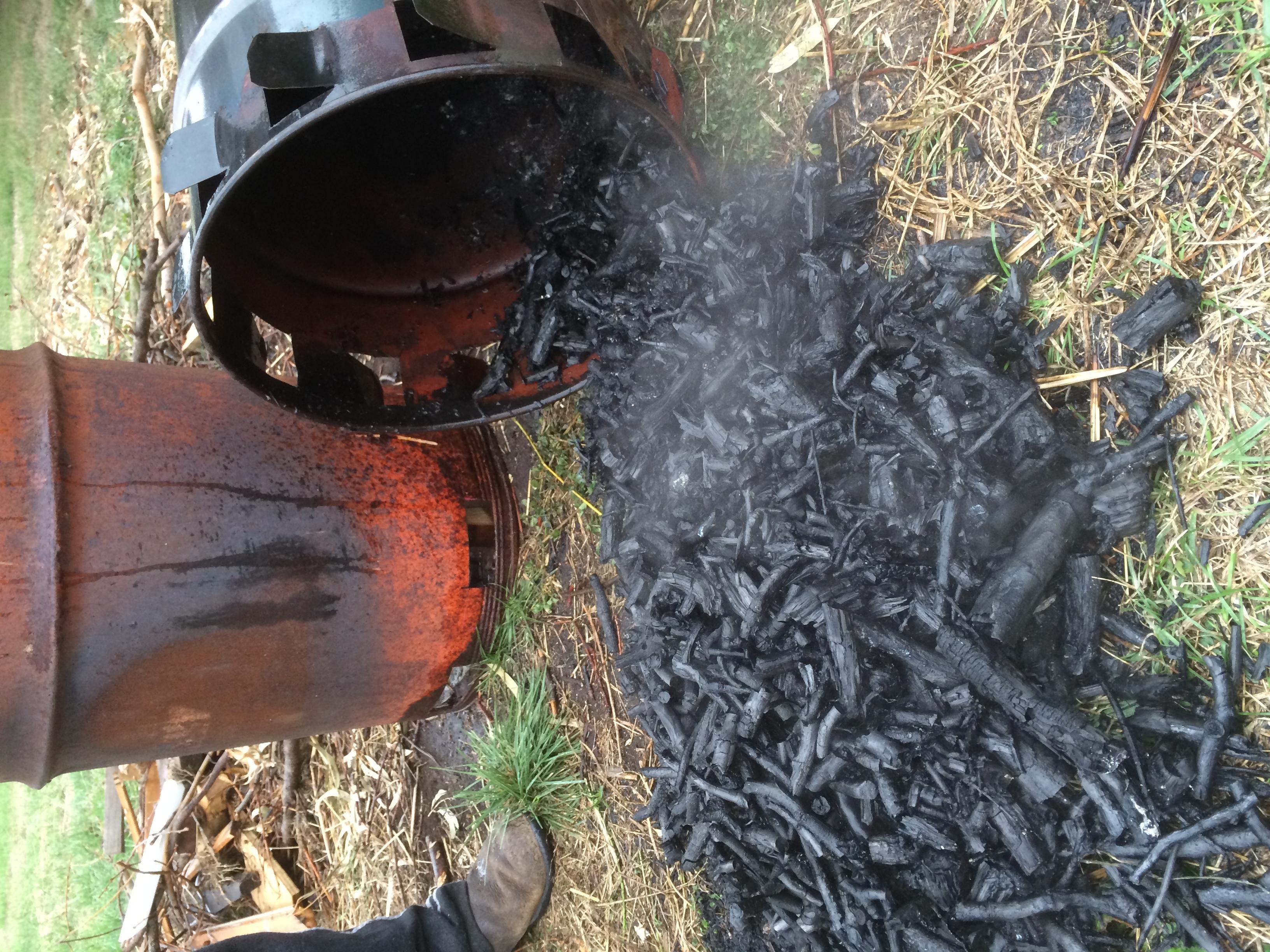 Biochar pyroliser