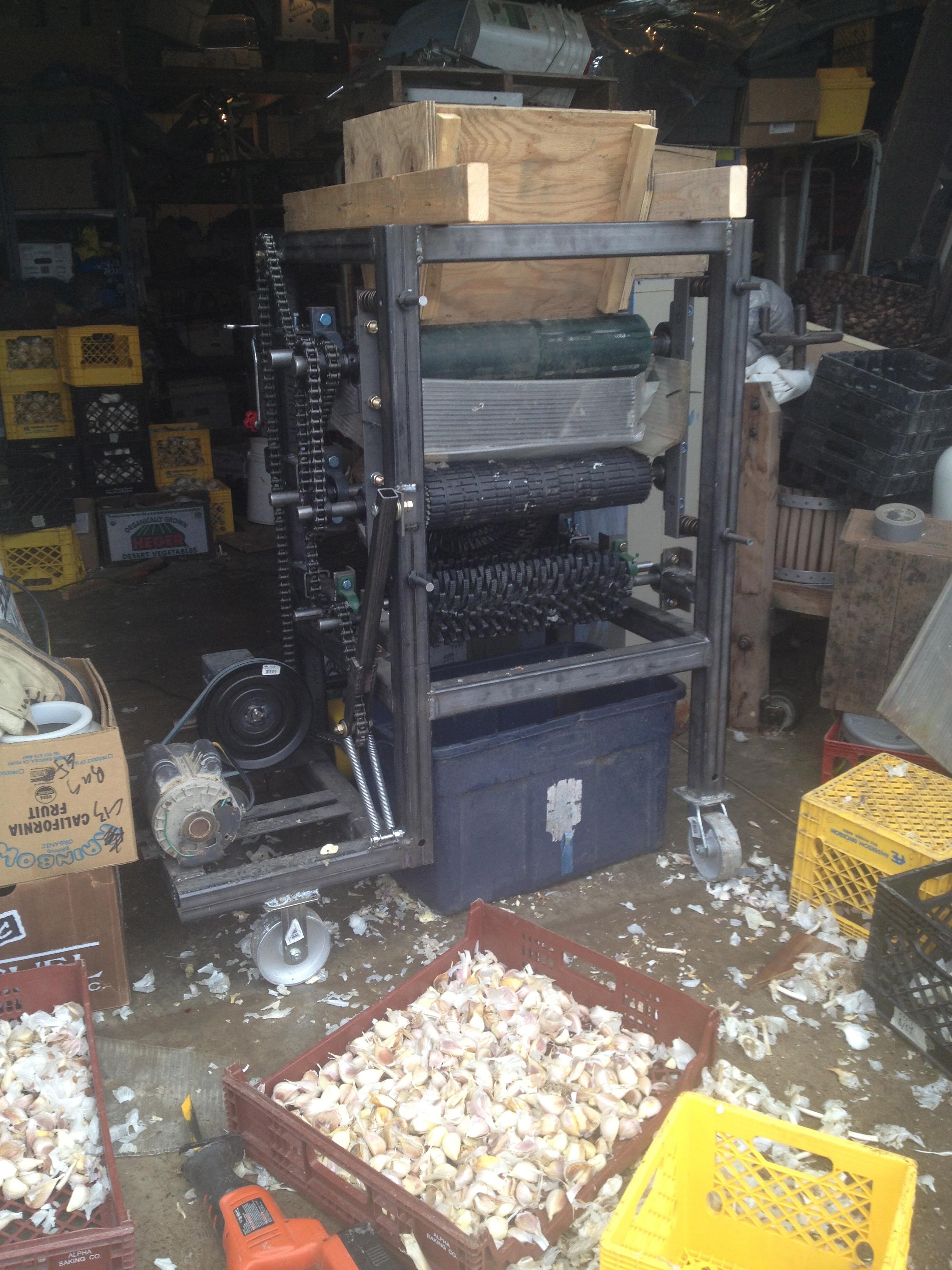 Garlic Clove Separator