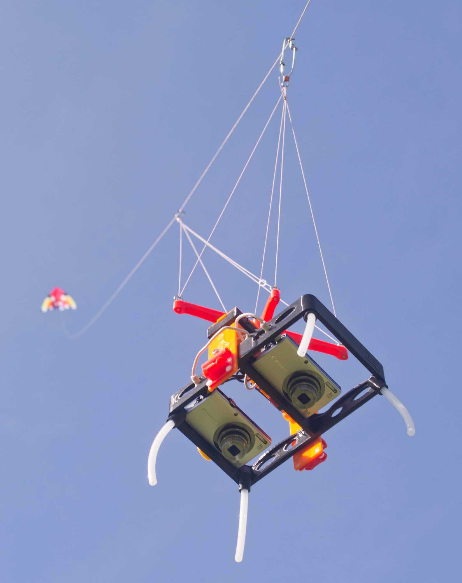 Aerial mapping rigs
