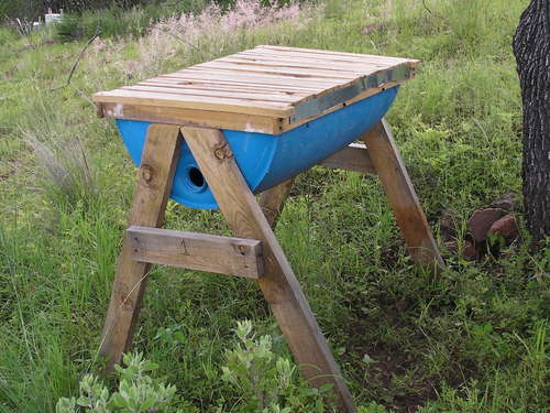 Simple Top Bar Bee Hive