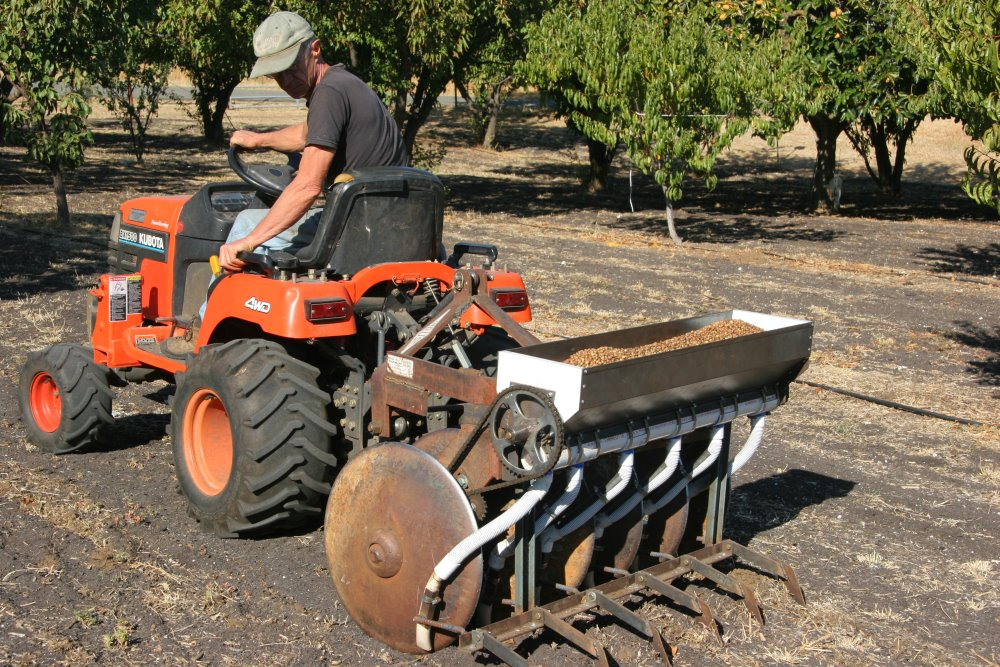 Home built no-till seed drill