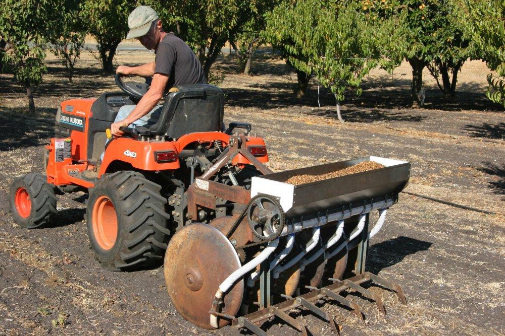 Home Built No Till Seed Drill Farm Hack