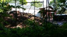 Root Cellar Construction in Progress