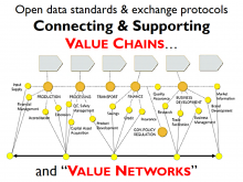 Linking value chains and value networks