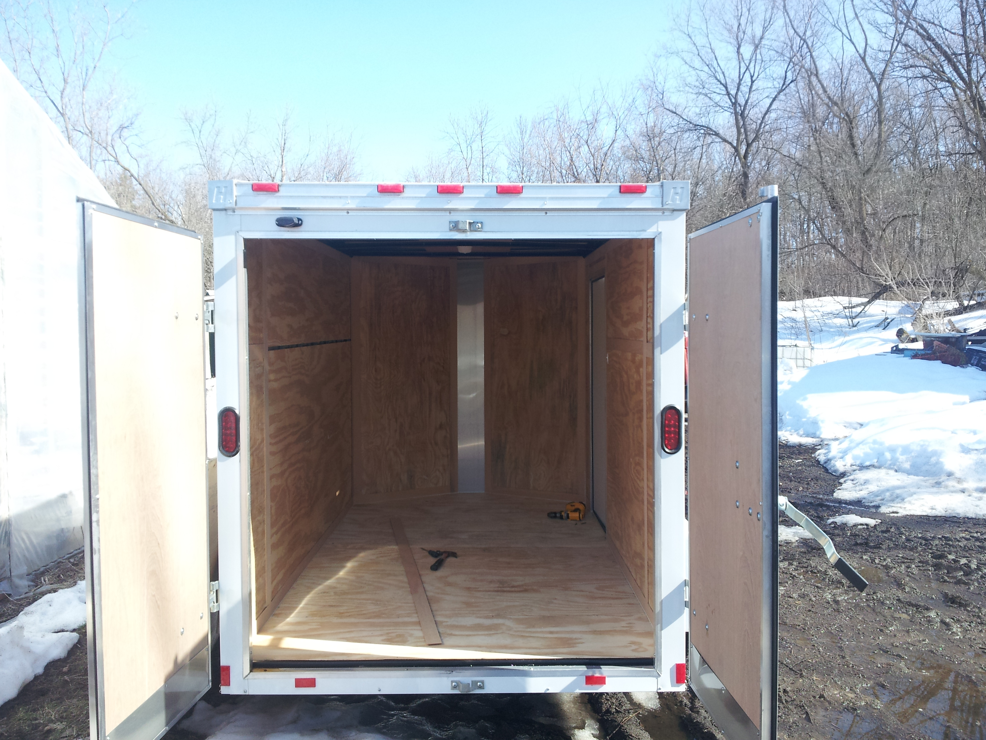 Cold Storage Trailer Farm Hack